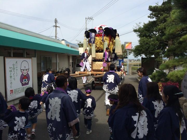 H26年総社神社の秋祭り